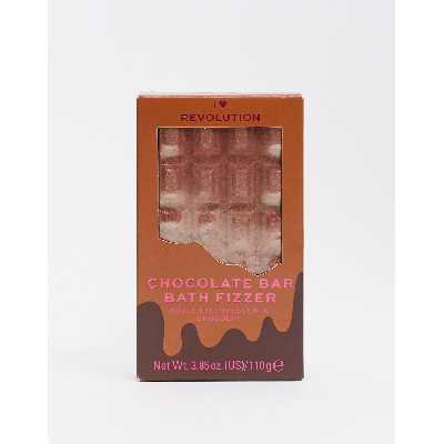 I Heart Revolution -Bombe de bain effervescente tablette de chocolat - Chocolat-Pas de couleur