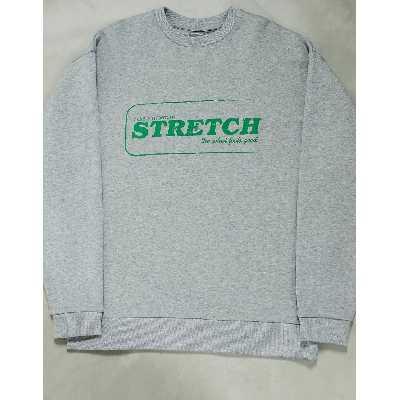 ASOS DESIGN - Sweat-shirt oversize à imprimé conseils bien-être sur la poitrine-Gris