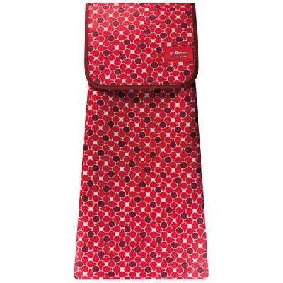 Les Artistes-Paris A-1605 Sac Poussette Fleur Rouge, Tissu