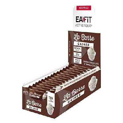 Eafit Barre Gainer Cookies/Cream Présentoir x 16