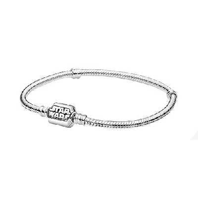 Pandora Star Wars 599254C00-19 Bracelet maille serpent en argent sterling